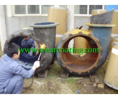wear abrasion resistant slurry pump pipeline epoxy coating