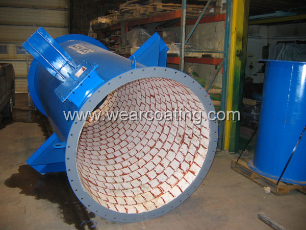 Pipeline Wear Abrasion Resistant Ceramic Lining Coating